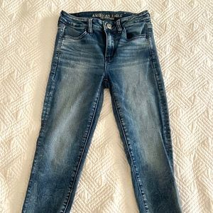NWOT American Eagle Cropped Jegging